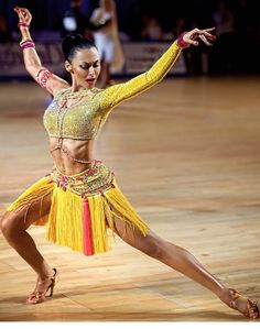 Cool dress! Powerful pose. #latindance #dance #dancesport