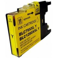Compatible High Capacity Yellow Brother LC1280XLY Ink Cartridge €4.79