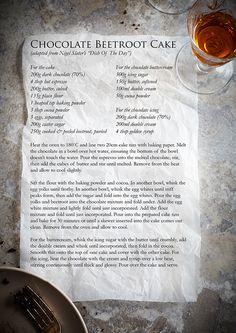 BEETROOT CAKE RECIPE