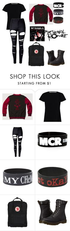 """""""More MCR"""" by dreamingqueen on Polyvore featuring Zimmermann, WithChic, Hot Topic, Fjällräven and Dr. Martens"""