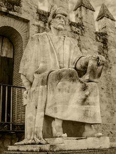 Averroes frente a la Muralla de Córdoba