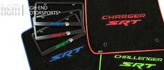 Dodge Challenger SRT & Dodge Charger SRT Floor Mats & License Plate Frames