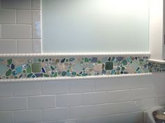 More sea glass - love this idea!