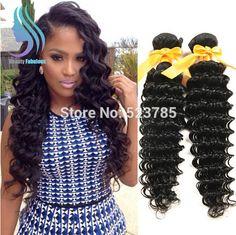 10A Virgin Hair Malaysian Deep Wave 3 bundle Unprocessed Virgin Malaysian Hair Cheap Malaysian Virgin Hair Weave Bundle 16 18 20