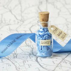 Message in a Bottle Keepsake by Little White Dog | Hatch.co #custom