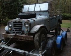 Barn Find, 1953 Alfa Romeo AR53 4x4 Jeep