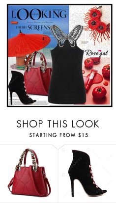 """""""Rosegal"""" by mrkay2-104 ❤ liked on Polyvore featuring Therapy"""