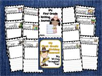 My First Grade Writing Journal-Western