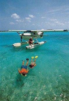 Would love to buy a sea plane and do this when I'm older