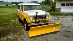 SnoStar Scout International Scout, International Harvester, Snow Vehicles, Old Pickup, Flat Bed, Snow Plow, Ih, Scouts, Automobile