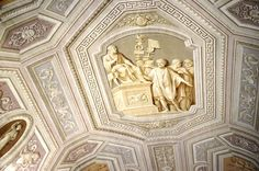 There is an entire room at the Vatican where the 2-D paintings look completely 3-D. Creepy and amazing.