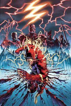 Flashpoint 1 Cover by sinccolor on DeviantArt Comic Books Art, Comic Art, Avengers, Flash Wallpaper, The Flash Grant Gustin, Transformers Masterpiece, Arte Dc Comics, Thing 1, Games