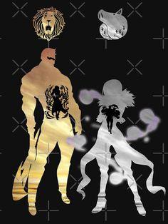 """""""Escanor / Merlin - Seven Deadly Sins"""" T-shirt by Blason Seven Deadly Sins Symbols, Seven Deadly Sins Tattoo, Seven Deadly Sins Anime, 7 Deadly Sins, Anime Angel, Anime Demon, Manga Anime, Animé Fan Art, Seven Deady Sins"""