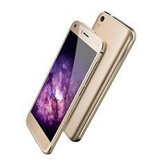 UMIDIGI London 5.0 Inch Unlocked Android 6.0 3G Smartphone MT6580 1.3GHz Quad Core GSM/WCDMA 1GB RAM 8GB ROM 1280*720 QHD Dual Camera 8MP/2MP WIFI GPS Sim-Free Mobile Phone(Gold) Free Mobile Phone, Cheap Smartphones, Dual Sim, Quad, Wifi, Android, London, Amazon, Distance