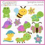 Springtime Animals Clipart