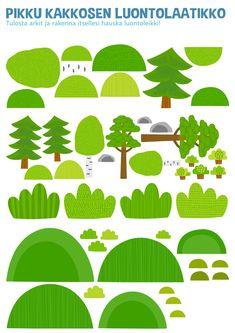 Nature Activities, Activities For Kids, Felt Board Stories, Teaching Kindergarten, Early Childhood Education, Printable Paper, Diy Paper, Free Printables, Diy Ideas