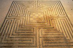 Labirinto dalla Casa dei Mosaici Geometrici (VIII,2,14-16), Pompei - Soprintendenza Speciale per i Beni Archeologici di Pompei, Ercolano e Stabia