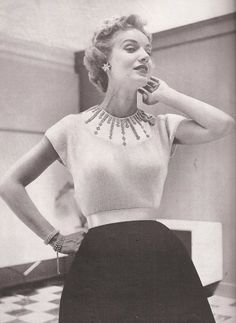 1950s Blouse Pattern