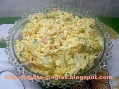 Salad Bar, Greek Recipes, Potato Salad, Cabbage, Salads, Food And Drink, Cooking Recipes, Menu, Vegetables