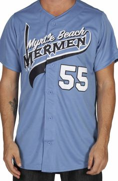 Kenny Powers Mermen Jersey