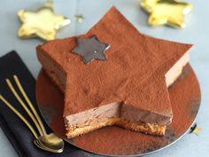 Découvrez la recette du royal des fêtes Beaux Desserts, Sugar Love, Thermomix Desserts, 20 Min, Sweet Cakes, Vinaigrette, Baked Goods, Biscuits, Feta