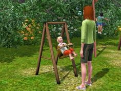 My Sims 3 Blog: Toddler Playground Swing by Danjaley