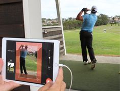 The golf training aids are the most important aspects of your game that helps you to improve your golf swing by just practicing on it. Golf Swing Analyzer, Golf Handicap, Golf Instructors, Golf Apps, Golf Score, Golf Training Aids, New Golf, Golf Gifts, Play Golf