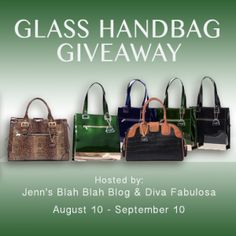 Feature Product Reviews: Gorgeous Leather Handbags from Glass Handbags Giveaway