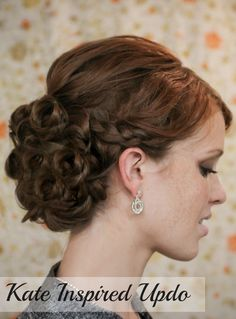 Holidays hairstyles
