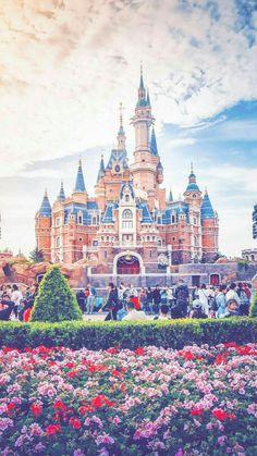 New wallpaper iphone disney castle disneyland Ideas Disney Pixar, Disney Parks, Disney Magic, Disney World Fotos, Disney World Pictures, Disney World Castle, Disney Castles, Disney Background, Disney Phone Wallpaper