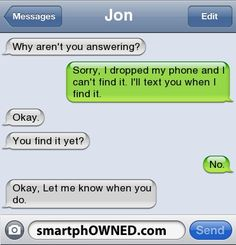 Page 48 - Relationships - Autocorrect Fails and Funny Text Messages - SmartphOWNED