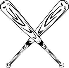 baseball bats clipart baseball bats clip art images clipartall rh pinterest com softball clipart batter softball bat clipart black and white
