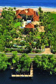 'Eco-Friendly' Florida Mansion - WSJ.com