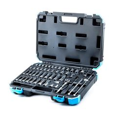 Capri Tools Drive Master Socket Set with Ratchets, Adapters and Extensions at Lowe's. The Capri Tools in. Drive Master Socket Set is a complete collection of most frequently used sockets and accessories. Organized by size in a specially Metric Socket Set, Ratchet, Traditional Design, Hand Tools, Extensions, Capri, Chrome, Steel