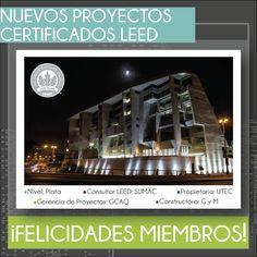 Estamos más que felices después de saber que tres de nuestras empresas miembros: GCAQ ingenieros civiles, Graña y Montero y SUMAC, contribuyeron con el desarrollo, construcción y certificación de la Universidad de Ingeniería y Tecnología - UTEC. Gracias a todos ellos se ha logrado conseguir la certificación LEED Silver para la universidad.