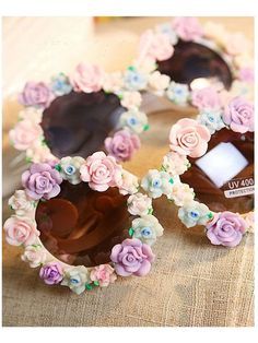 DIY Sunglasses With Flowers | Choies