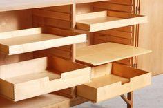 Børge Mogensen Pair of Oak Cabinets for FDB Møbler, 1960s 7