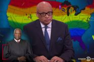 "Larry Wilmore shreds Clarence Thomas' vile slavery analogy in marriage equality dissent: ""Do you even know what slavery is?"" - http://www.salon.com/2015/06/30/larry_wilmore_shreds_clarence_thomas_vile_slavery_analogy_in_marriage_equality_dissent_do_you_even_know_what_slavery_is/"