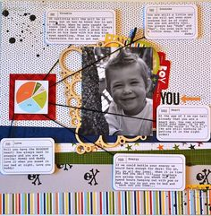 Every Boy Should Be Like You via aliedwards.com using story boxes from the Gatherings Story Kit™