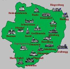 Schlösser in Niederösterreich