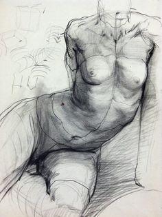Figure studies by Steven Assael
