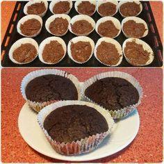 Csokis muffin zabpehelylisztből - Barna Bodor Éva fotója