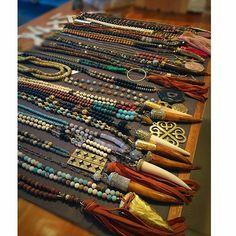 #bohochicjewelry #fashion #necklaces #handmade #boutiques #wholesale #naturalstones #potd #ootd #love #fall2015 #bohojewelry