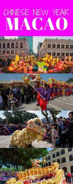 Chinese New Year in Macau long pin