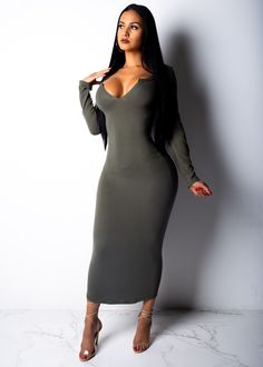 bccbc8df2640 Im On My Own Midi Dress. Im On My Own Midi Dress – Diva Boutique Online