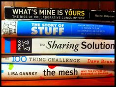 Some good reads on Collaborative Consumption and the Sharing Economy. Let's make sharing awesome again!