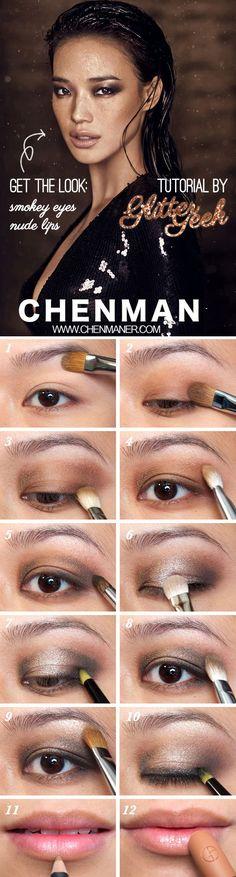 Shu Qi on Harper's Bazaar 2011 (Smokey Eyes and Nude Lips Makeup Tutorial) | Glitter Geek