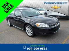 2015 Chevrolet Chevy Impala Limited LTZ Black Call for Price  miles 904-209-9531 Transmission: Automatic  #Chevrolet #Impala Limited #used #cars #NimnichtChevrolet #Jacksonville #FL #tapcars
