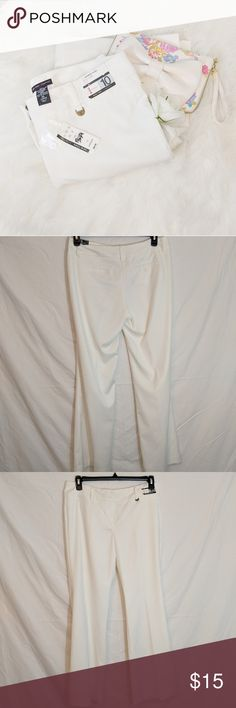 "New York & Company Wide Leg Flare Leg Pants New York & Company Wide Leg Flare Leg Pants Condition: Excellent! No stains or holes. Comes from a smoke and pet free home.  Measurements Below  Hip: 17""  Hip to Crotch: 10""  Inseam: 31""  Ankle: 12""  Size: 10  Feel free to bundle and/or make me an offer!  Also comment if you want to be notified of new arrivals!  A165-0314-0100 New York & Company Pants Boot Cut & Flare"