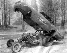 Early funny car flopper.